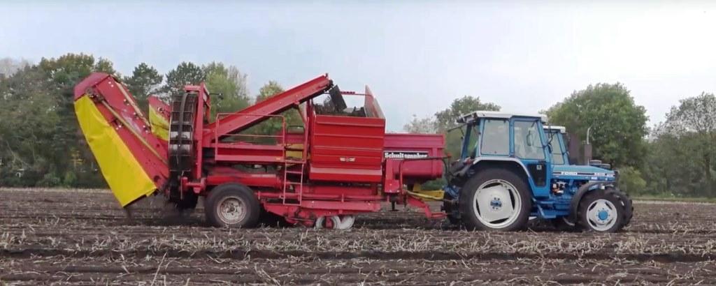 уборка картофеля grimme hl 750